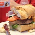The New Orleans burger by Burgerklubben.dk