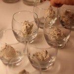 Deepfried mars bars with ice cream