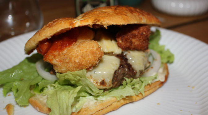 World Cup Theme – Australian burger