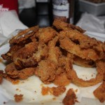 The onion rings