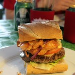 The New Orleans burger by Burgerklubben.dk