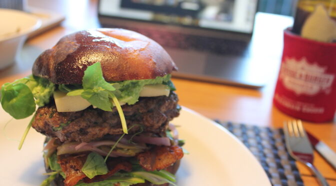 covid-19 burger: Keep it local – Virtual meeting
